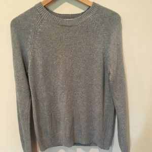 Forever 21 grey crewneck sweater